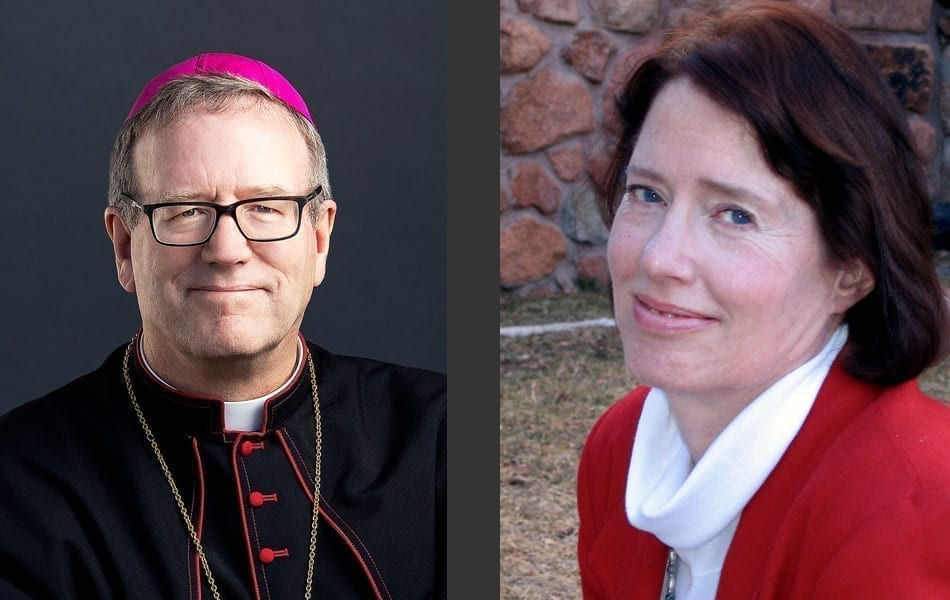 Bishop Robert Barron and Sherry Weddell